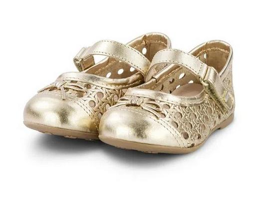 Sapatilha Infantil Bibi Anjos Feminino Dourado