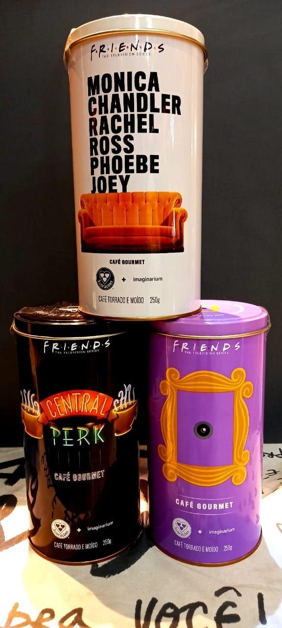 LATAS DE CAFÉ FRIENDES