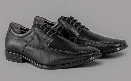 Sapato Smart Comfort Cosmo Flex Preto