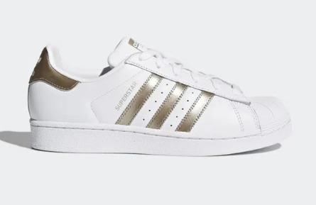 Adidas Super Star Ouro Velho