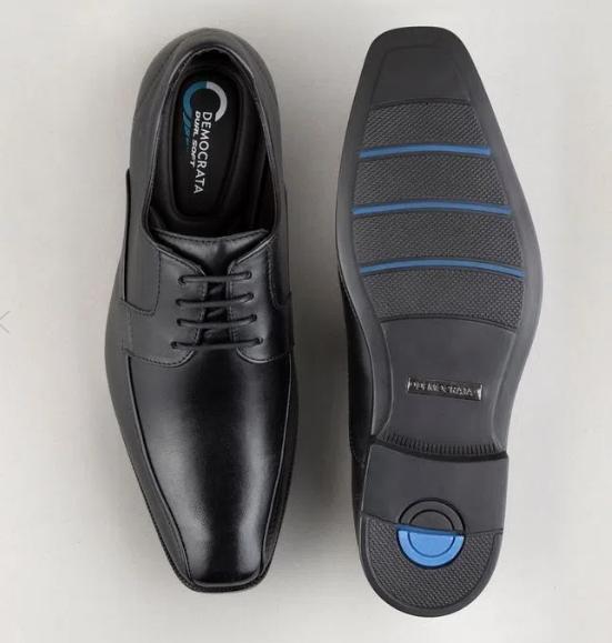 Sapato Smart Comfort Dual Soft Dress Preto