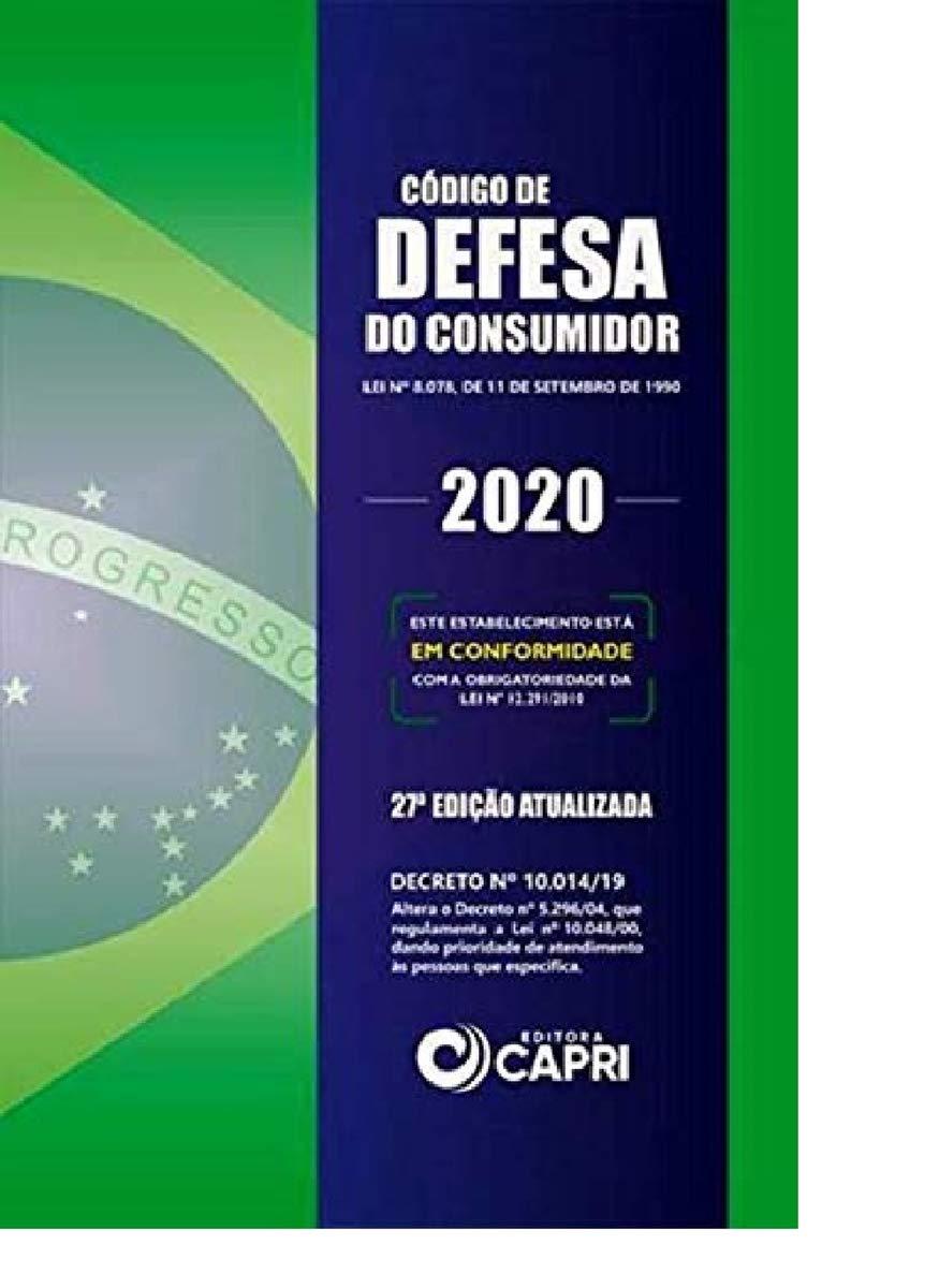 CODIGO DE DEFESA DO CONSUMIDOR 2020