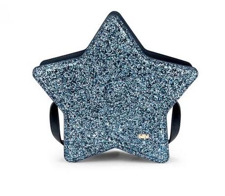 Bolsa Infantil Bibi Estrela Brilho Azul 857363